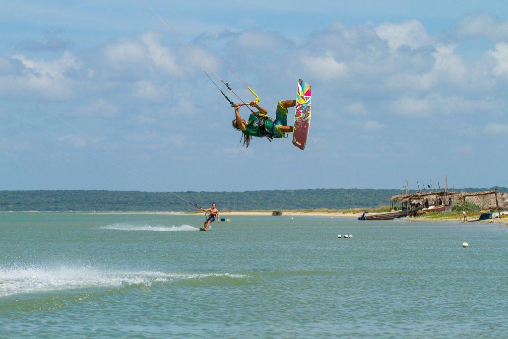 kitesurfen kitesurfing kalpitiya sri lanka